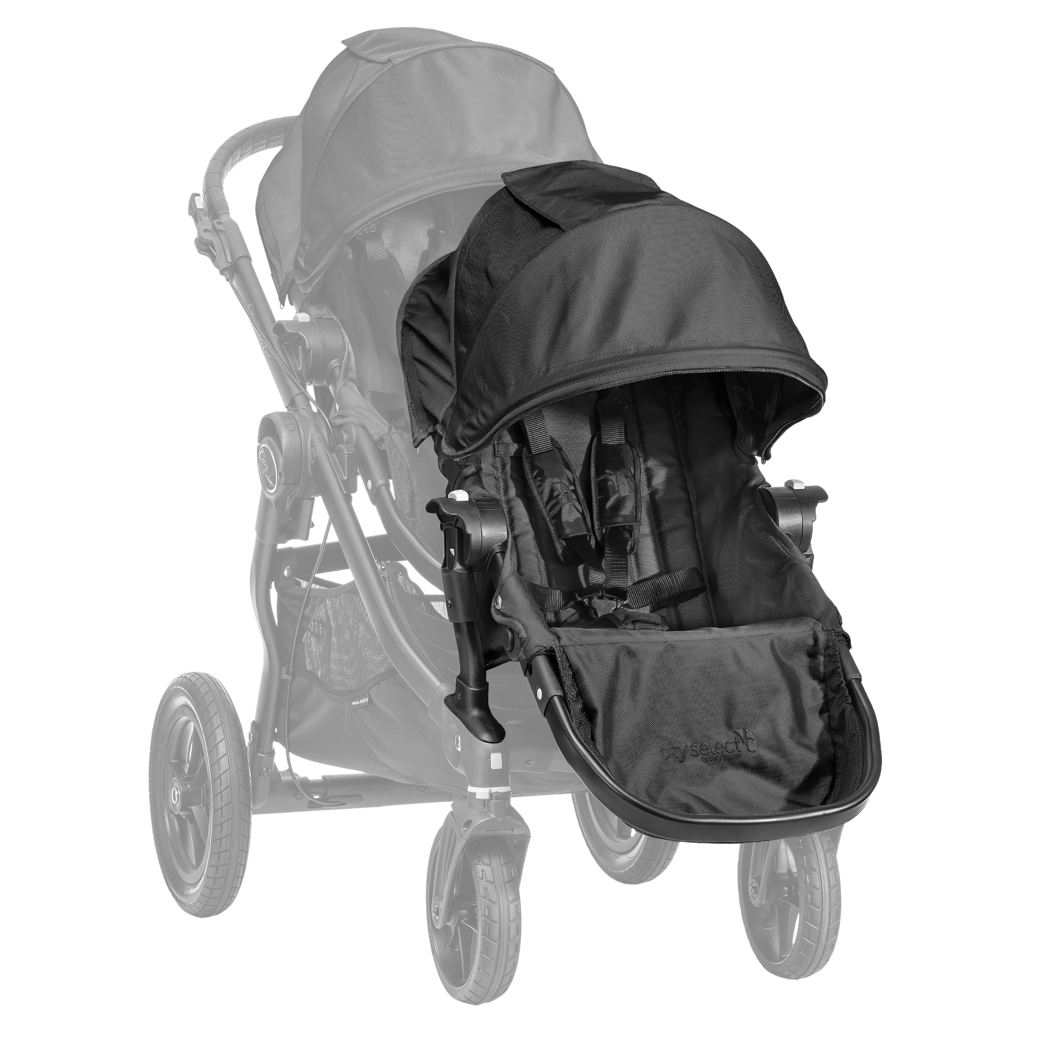 Baby Jogger City Select Lux Bench Seat Black